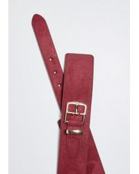 ModCloth - Outfit Balance Suede Belt - Lyst