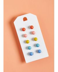 ModCloth - Handy Candy Earring Set - Lyst