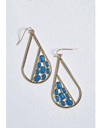 ModCloth - Dazzling Drops Earrings - Lyst