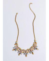 ModCloth - Shine All Mine Statement Necklace - Lyst