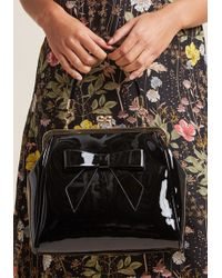 Banned - High-shine Profile Bag In Black - Lyst