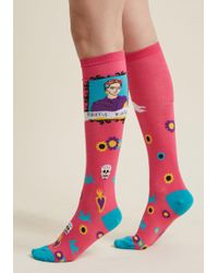 ModCloth   Brow In The World Knee Socks   Lyst