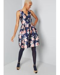 Chi Chi London - Sweetly Celebrated Fit And Flare Dress - Lyst