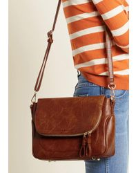 ModCloth - Couth Carrying Crossbody Bag - Lyst