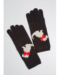 ModCloth - On Your Bark Scottie Gloves - Lyst
