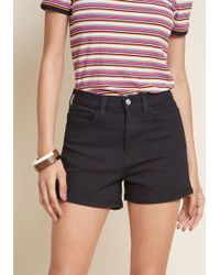 ModCloth - Tandem Tour Shorts In Black - Lyst