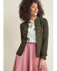 ModCloth - Glam Believer Knit Jacket - Lyst