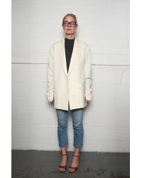 Lemaire - Double Breasted Jacket - Lyst