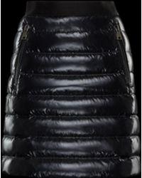 Moncler - Daunenrock mit Taschen - Lyst