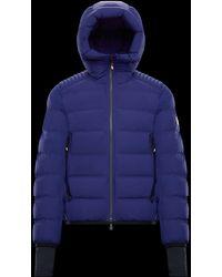 a6f2531382a11 Lyst - Moncler Grenoble Beckler Padded Jacket in Blue for Men