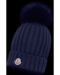 612016344a0 Lyst - Women s Moncler Hats Online Sale