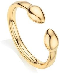 Monica Vinader - Fiji Bud Stacking Ring - Lyst
