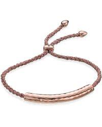 Monica Vinader - Esencia Friendship Bracelet - Lyst