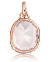 Monica Vinader - Riva Kite Diamond Pendant Charm - Lyst