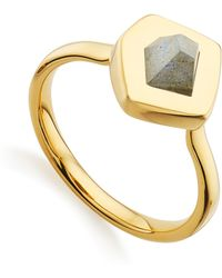 Monica Vinader - Petra Stacking Ring - Lyst
