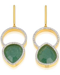 Monica Vinader - Naida Kiss Cocktail Earrings - Lyst