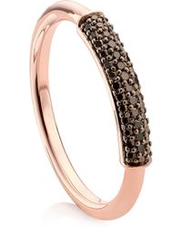 Monica Vinader - Stellar Diamond Stacking Ring - Lyst
