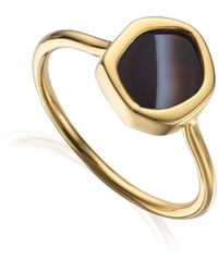 Monica Vinader - Atlantis Gem Mini Stacking Ring - Lyst