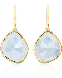 Monica Vinader - Siren Large Nugget Earrings - Lyst