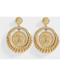 Roberto Cavalli - Eye Earrings - Lyst
