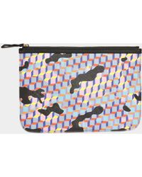 Pierre Hardy - Pouch Canvas Cube - Lyst