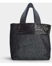 Victoria Beckham - Sunday Bag In Blue Denim - Lyst