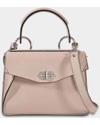 Proenza Schouler - Small Hava Top Handle Bag In Lindos Leather - Lyst