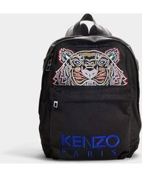 KENZO - Icon Rucksack In Black Synthetic Material - Lyst