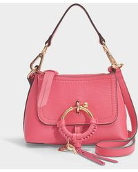 En Sac Rose Vif Hobo Mini Grainé Joan Cuir xeWrBoEQdC