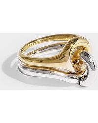 Charlotte Chesnais - Ring Eclipse aus Vermeil und Silber - Lyst