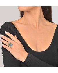 Voodoo Jewels - Sigillum Ring With Drops - Lyst