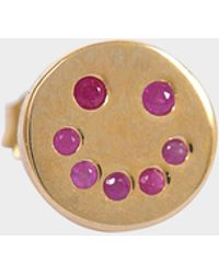 Marc Jacobs - Smiling Face Single Stud - Lyst