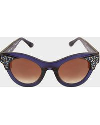 Thierry Lasry - Exclusive Nymphomany Sunglasses With Swarovski Crystals - Lyst