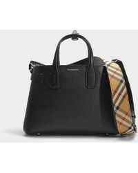 Burberry - The Medium Banner Tote - Lyst