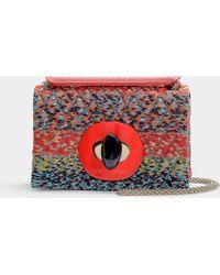 Giorgio Armani - Flap Bag In Multicolor Calfskin - Lyst