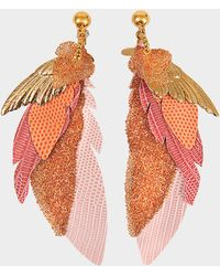 Gas Bijoux - Exclusive L'iroquoise Earrings With Swarovski Crystals - Lyst