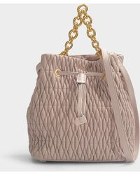 Furla - Stacy Cometa S Drawstring Bag In Dalia - Lyst
