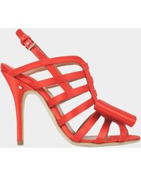 Laurence Dacade - Narcisse Satin Bow Sandal - Lyst