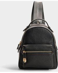COACH - Campus Backpack 23 In Black Calfskin - Lyst