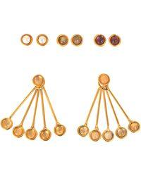 Sylvia Toledano - Les Infidèles Ear Jacket Set Of Earrings - Lyst