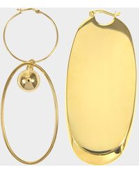 Stella McCartney - Asymmetric Earrings - Lyst