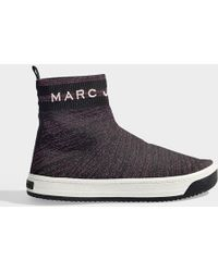 Marc Jacobs - Dart Sock Sneakers In Multicolor Pink Polyester - Lyst