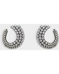 Helene Zubeldia - Twisted Clip Earrings - Lyst