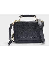 Marc Jacobs - Sac The Box 20 en Cuir Noir - Lyst