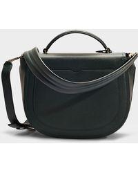 3.1 Phillip Lim - Hudson Top Handle Saddle Bag In Petrol Blue Calfskin - Lyst