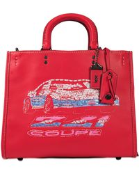 COACH - Car Embellished Leather Rogue - Lyst