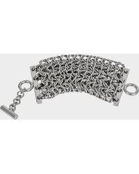 Alexander Wang - 4 Row Box With Chain Bracelet - Lyst