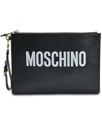 Moschino - Pouch Large - Lyst