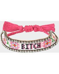 Shourouk - Bitch Flower Bracelet - Lyst