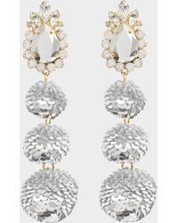 Shourouk - Disco Earrings - Lyst